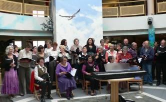 Concert Maison de retraite Les Monts à Bernay - mai 2013